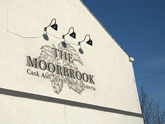 The Moorbrook pub sign, Preston (Tony Worrall) Tags: pub bar inn boozer publichouse drink architecture building white moorbrook beer ale sign signage preston lancs lancashire city welovethenorth nw northwest north update place location uk england visit area attraction open stream tour country item greatbritain britain english british gb capture buy stock sell sale outside outdoors caught photo shoot shot picture captured ilobsterit instragram photosofpreston