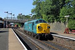 37109 Bury Bolton Street (CD Sansome) Tags: 37109 37 br bury bolton street station heritage preserved trains elr east lancs lancashire railway