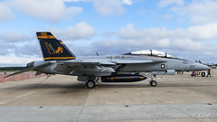 """Boeing F/A-18F Super Hornet of Strike Fighter Squadron 32 (VFA-32) """"Fighting Swordsmen"""" from NAS Oceana (Norman Graf) Tags: boeing fa18f usn 166661 airplane vfa32 cagbird 2017nasoceanaairshow airshow fa18 navalaviation aircraft fighting32 swordsmen ac100 attack carrierairgroup f18 f18f fighter hornet jet nasoceana plane strikefightersquadron32 superhornet unitedstatesnavy"""