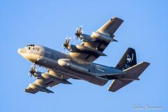 USMC C130J (galenburrows) Tags: aviation aircraft airplane airforce usmc usmarines c130 c130j hercules flight flying