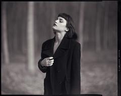 (Kinerab) Tags: film large format aeroektar ae fashion winter poetry love