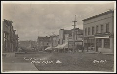 "c. 1910 ""Allen Photo"" Postcard - View Of Third Avenue at Prince Rupert, British Columbia, Canada (Treasures from the Past) Tags: princerupert britishcolumbia postcard allenphoto dennyallen 1910 thirdavenue"