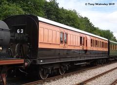 East Grinstead BTL 1520 (TonyW1960) Tags: bluebellrailway eastgrinstead lswr brake3rd 1520