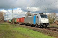 Empel-Rees 17032019 (Spoorfoto.nl) Tags: trein hsl goederen goederentrein train cargo traincargo albelliorrx rheinruhrexpress emmerich db hbf br185 spoor spoorwegen spoorrweg