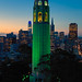 Green Coit Tower