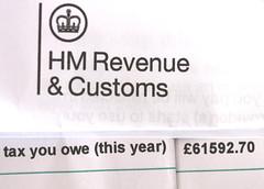 HMRC  April Fools.  Macro Mondays. (the.haggishunter) Tags: tax demand obscene silly joke inlandrevenue hmrc fantasy fools dreaming macro canon april aprilfools macromonday disgrace