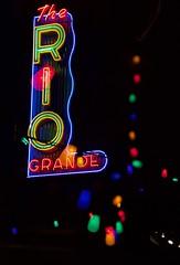 The Rio Grande - Denver, Colorado (AlainC3) Tags: neon lumière lights affiche denver colorado usa nikond7500