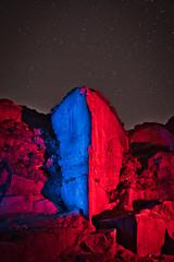 _0PC8235AP (pcartermiet) Tags: rocks lightpainting night landscape outdoors cowandcalf ilkley nikon d810 quarry rock sky grass stars