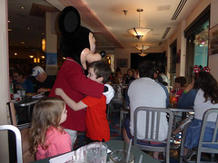 Florida Day 4 - 104 Disneys Hollywood Studios Minnies Holiday Dine at Hollywood and Vine Mickey Mouse (TravelShorts) Tags: wdw walt disney world disneys hollywood studios florida orlando fantasmic frozen vine star wars tower terror