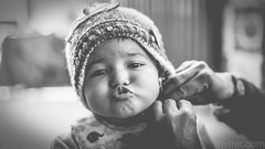 Untitled (#Weybridge Photographer) Tags: canon 5d mkii eos slr dslr nepal asia kathmandu mk ii child girl monochrome portrait