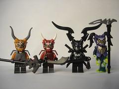 853866 - Oni masks (fdsm0376) Tags: lego set blister ninjago review minifigure oni 853866