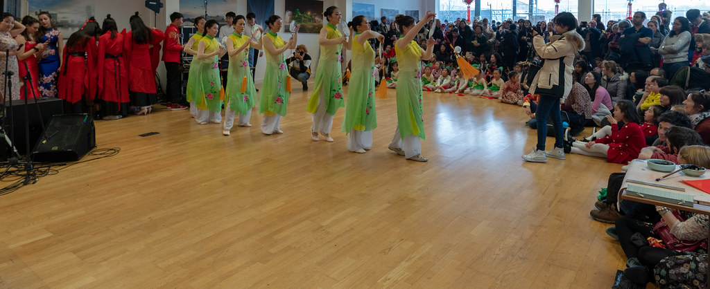 YEAR OF THE PIG - LUNAR NEW YEAR CELEBRATION AT THE CHQ IN DUBLIN [OFTEN REFERRED TO AS CHINESE NEW YEAR]-148949