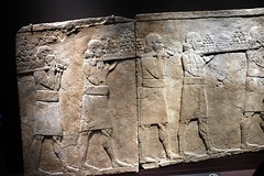 Bearing food to the the feast (calmeilles) Tags: london england unitedkingdom ashurbanipal britishmuseum middleeast nineveh
