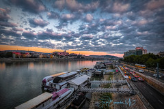 Budapest Morning Traffic at Sunrise over The Danube.jpg (bowdoc2012) Tags: 2018 eetours hungary budapest