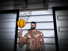 Play Ball (D3vilstrike) Tags: secondlife sl second basketball belleza bento catwa outdoors outside