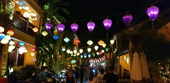 Hoi-an, Vietnam (Julian Myles Fidler) Tags: hoian historic vietnam vietnamese town canal river countryside south china sea beach relaxed easy beautiful atmospheric buildings japanese bridge chinese temples art galleries tea houses fishing port boats market lanterns