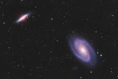 M81 and M82 Galaxies (Daniel McCauley) Tags: m81 m82 galaxy galaxies ursa major constellation bodes cigar astrophotography astrophoto cloudynights astropix messier
