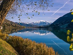 Endine, Bergamo (Italy) (mm80_photography) Tags: explore travel canon cloud water lake blue sky clear mountain sun lanscape endine bergamo italy