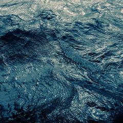 Still. (philippe baumgart) Tags: minimalism minimal abstract water waves flow movement rhine alsace elsass blackandwhite noiretblanc square