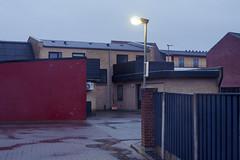 Red wall + windows (Christopher Magni Kjerholt) Tags: canon eos 5d mll herning denmark 50mm 14
