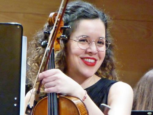 Una sonrisa y un violín