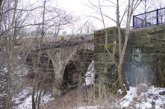 PRR Bridge 012 (Fan-T) Tags: willlard prr cp viaduct park bedford ohio abandoned stone arch bridge