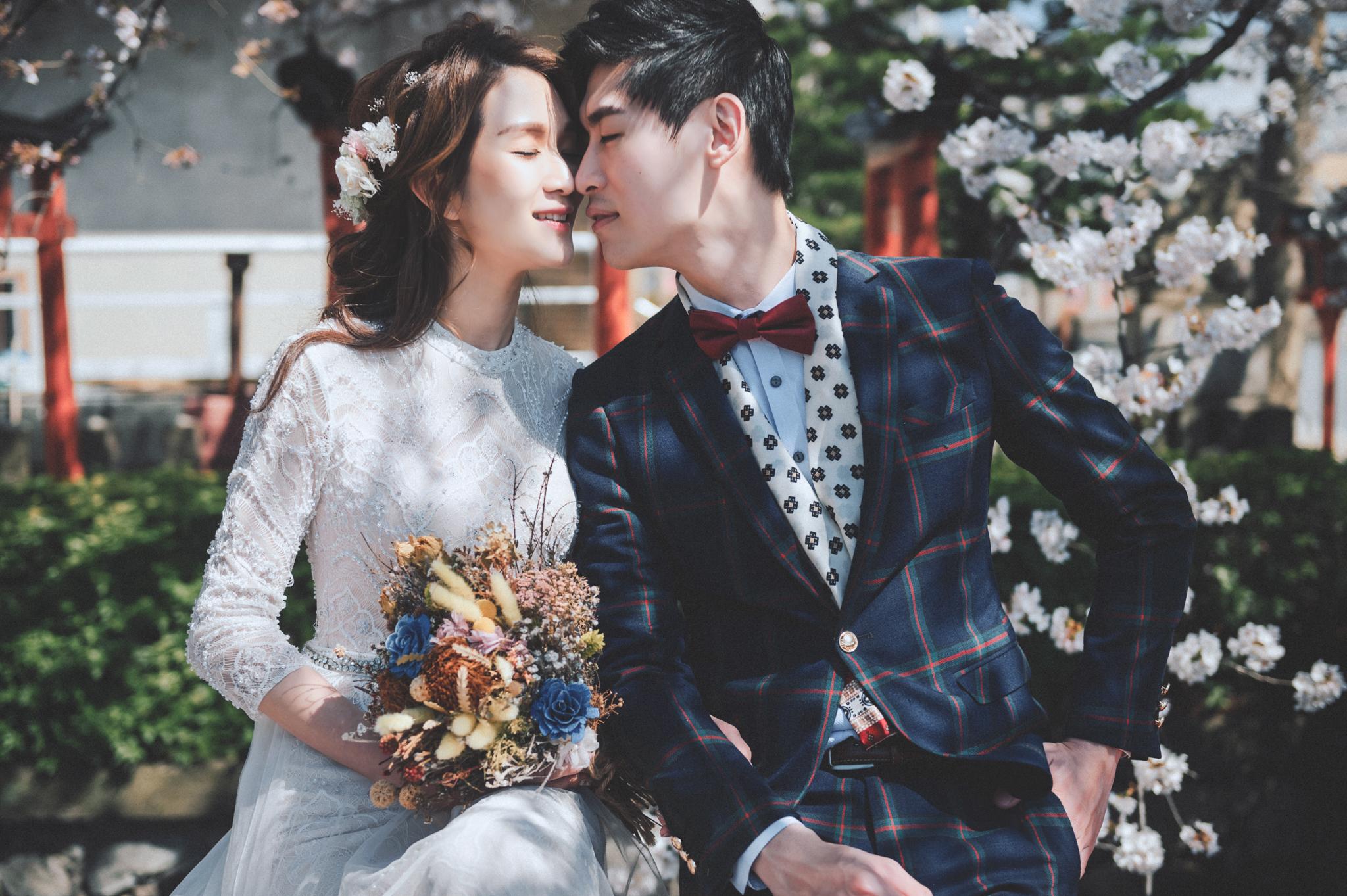 Easternwedding 婚禮影像工作室 EW JMH 居米 日本 京都 櫻花 婚紗