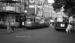Tram & buses (railfan3) Tags: amsterdam oudamsterdam amsterdam1972 centraalstation publictransport openbaarvervoer gvb tramstramlijnen lijn9 gvb557 zelfbesieningswagen enkelgelede trams1972 gvb16 buslijn12 tramlijn9 ouderwetse oudetrams oudewagens tramsbussen tramsbuses vintagetrams retrotrams retrofashions oldtimers oldtrams beijnestrams 1ggeledetrams trams trolleys tramcars standaardbus tram tramway triebwagen tramwagens gt6 enkelgeledetramwagens amsterdamse amsterdams amsterdamsetrams amsterdamtrams amsterdamsetram gvbtrams trammaterieel trammetjes tramstellen tramwegmaterieel tramtracks tramvoertuigen tramverkeer streetcars strassenbahnwagen strasenbahn streetscene straatbeeld straatplaat nederlandse nederland dutch