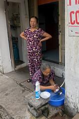 Train Street (cowyeow) Tags: hanoi vietnam asia asian street urban city trainstreet travel candid people woman women ladies door