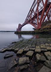 Forth Bridge (Dibbly Dobbler) Tags: fuji xt20 1024mm forthbridge longexposure
