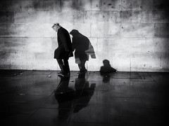 The Descent of Man (Feldore) Tags: london street photography trafalgar square shadows strange decline descent elderly old age feldore mchugh em1 olympus 17mm 18 sequence symbolic