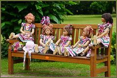 Kindergartenkinder ... (Kindergartenkinder 2018) Tags: havixbeck burg hülshoff annemoni kindra milina sanrike tivi