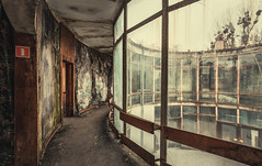 human cage (Nils Grudzielski) Tags: lostplaces urbanexploration abandonedplaces old desolate decay cage