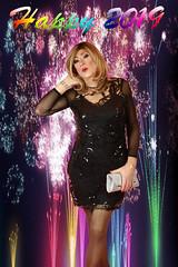 At last! Lisah finally emerges..... (lisahsixty) Tags: lisahfrench lisah lisahsixty boyswillbegirls bwbg cindy transvestite tgirl littleblackdress lbd crossdresser cd femininetgirl silverhandbag blonde blondetgirl redlips blackstockings newyear2019 sexytgirl sexycrossdresser feminine tg sexylady transgenderpinup tvsinlbd tgirlfeminity