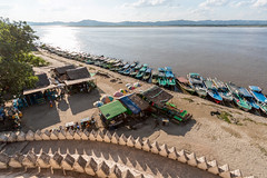Vue de Bu Paya sur la rivière Irrawaddyjpg (Seb & Jen) Tags: bagan myanmar burma birmanie mandalayregion myanmarbirmanie oldbagan nyaungu royaumedepagan bu paya irrawaddy