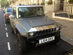 2014 MEV Hummer HX Electric vehicle (mangopulp2008) Tags: 2014 mev hummer hx electric vehicle