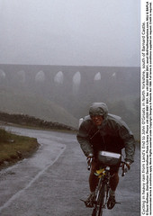 Cycling In Rain 1 (hoffman) Tags: aquaduct aqueduct bicycle bicycling bike bridge countryside cycle cycling grain grainy high moorland moors outdoors rain raining rainy soaked soaking vertical weather wet yorkshire 181112patchingsetforimagerights london uk