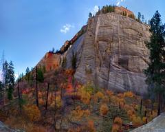 Zion West Rim Trail (swissuki) Tags: zion national park westrim trail moutainfall colors sky landscape nature
