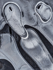 Ice Macro Abstraction (mikecable1) Tags: abstract abstraction aleatoric abstractphotography art fineart forms figures maryland macro mikecable micro micro43 nature naturalabstract closeup water winter epl5 elements olympus detail ice