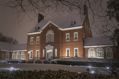Government House in the Snow (jtgfoto) Tags: approved annapolis snow snowy nightscape nightlights dta downtownannapolis annearundelcounty maryland naptown sonyimages sonyalpha cityscape zeiss governmenthouse governorsmansion facade architecture architecturephotography