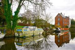 Coton Mill, Shropshire Union Canal (Ugborough Exile) Tags: gnosall stafford staffordshire midlands england uk sony a7iii 2019