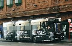 Bus Eireann DA2 (93C2502). (Fred Dean Jnr) Tags: buseireannroute203 cork buseireann guinness daf sb220 alexander setanta da2 93c2502 merchantsquaycork august1999 alloverad guinnessextracold