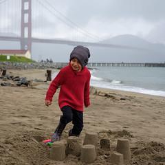 (rogergabrielgarcia) Tags: sanfrancisco goldengatebridge ocean beach crissy field