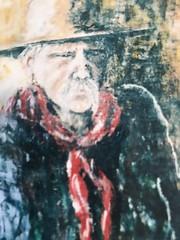 624 (Cheryl Gaer Barlow) Tags: western cowboy buckeroo painting art paintings portrait figurative impressionistic