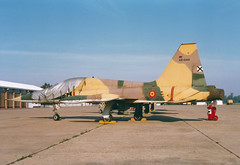SF-5A A9-044 23-28 Ala23 (spbullimore) Tags: real la talavera 1996 aire del ejercito force air spanish spain ala23 23 ala 2328 a9044 sf5a f5 fighter freedom northrop