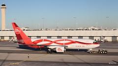 Boeing 767-200 (N999YV) 21 Air (Mountvic Holsteins) Tags: boeing 767200 n999yv 21 air miami international airport mia