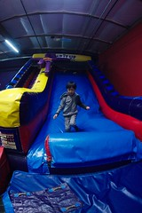 4728 Downward (mliu92) Tags: calcifer son belmont pumpitup birthday inflatable party nikkor 1635