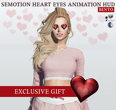 SEmotion Heart Eyes Animesh HUD (Marie Sims) Tags: semotion sl secondlife stands slfashion slavatar set sweet ao animations animation avatar anim animaitons animaions animated aohud animarions amused animesh event 3d expression emotion expressions emoji release rigged review trendy trend props yummy unisex hud funny fun hot hq holidays fashion female gift girly girl gacha giveaway guys kawaii mocap modeling model mood mesh eyes heart woman fancy feelings facial flirty face genus catwa lelutka bento valentine stvalentine love candy couple