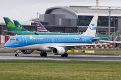 PH-EXV | KLM Cityhopper | Embraer ERJ-190STD (190-100) | CN 19000750 | Built  2018 | DUB/EIDW 25/01/2019 (Mick Planespotter) Tags: aircraft airport dublinairport collinstown nik sharpenerpro3 jet phexv klm cityhopper embraer erj190std 190100 19000750 2018 dub eidw 25012019 2019 erj190