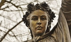 34298 (benbobjr) Tags: banbury oxfordshire england english uk unitedkingdom gb greatbritain britain british town city urban statue sculpture art fineladyonawhitehorse nurseryrhyme rideacockhorsetobanburycross